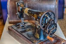 Old Vintage Retro Sewing Machine