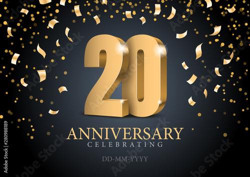 Fotografía Anniversary 20