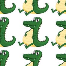Seamless Pattern Tile Cartoon ...
