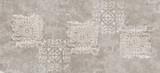 vintage background,cement damask pattern background, cement damask digital tiles - 280995153