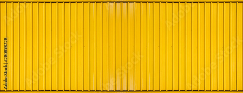 Photo Yellow box container striped line textured background