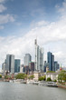 Cityscape with River Cruises; Frankfurt