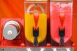Leinwandbild Motiv Close up of slushy machine