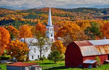 Congregational Church And Farm...