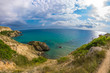Picturesque sea bay