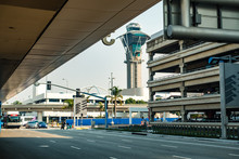 Los Angeles LAX Airport And Su...
