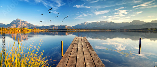 Fototapeta Spaziergang am See
