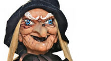 Portrait Of An Ugly Witch Doll...