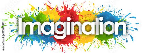 Obraz imagination in splash's background - fototapety do salonu