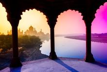 View Of Taj Mahal, India, 2019