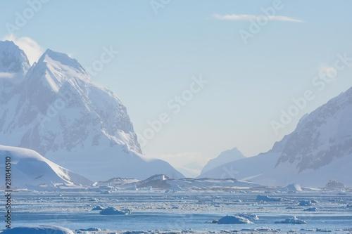 Carta da parati  Paysage de glace Antarctique