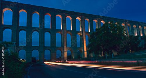 The Aqueduct of Vanvitelli or Caroline Aqueduct Tableau sur Toile