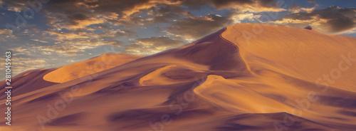 Fototapeta  Beautiful sand dunes in the Namib  desert