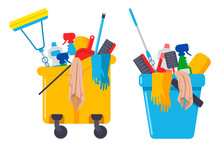 Cleaning Supplies And Equipmen...