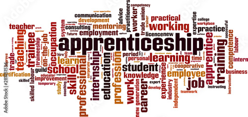 Photo Apprenticeship word cloud