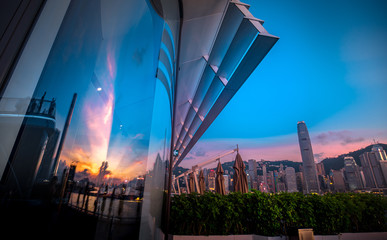 Hong Kong Victoria Harbor i...