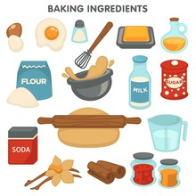 Baking Ingredients Food And Co...