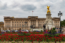 Buckingham Palace In London , ...