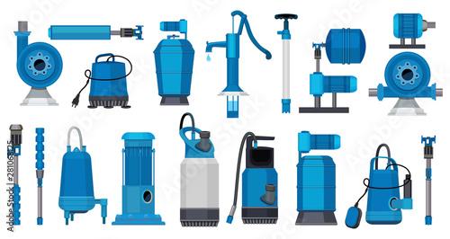 Cuadros en Lienzo Water pumps