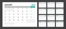 2020 Calendar Planner Set For ...