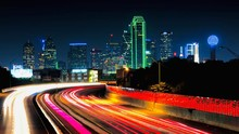 Dallas Skyline - Long Exposure