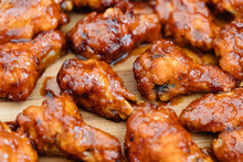 Crispy Barbecue Chicken Wings ...