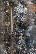 Heap Of  Rubbish On Garbage Dump