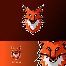 Fox Esport Gaming Mascot Logo ...