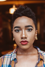 A Portrait Of A Beautiful Black Woman