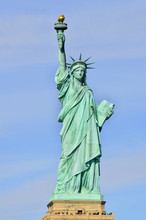 Statue Of Liberty, In New York...