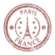 Famous Tower Eiffel On Paris