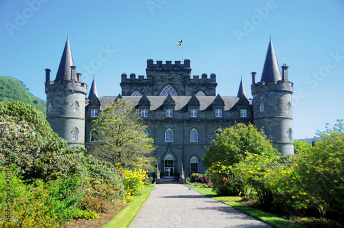 Photo Inveraray Castle is an estate house near Inveraray in the county of Argyll on th