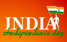 Festive Illustration Banner Of Independence Day In India Celebra