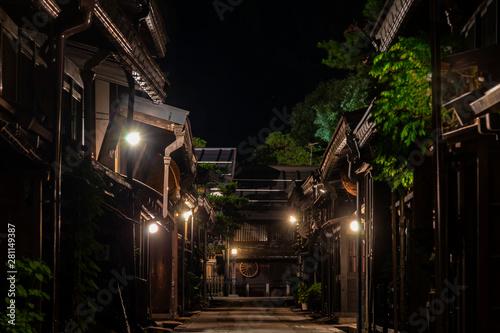 Obraz na plátně  三町筋夜景G8