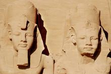 Abu Simbel Temples Are Two Ma...