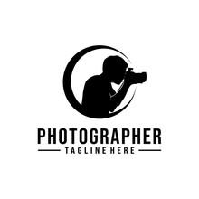Photographer Retro Logo Design...