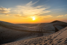 Glamis Dunes Sunset
