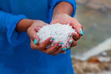Salt Fields In Nha Trang, Viet...