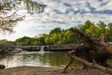 Waterfall At McKinney Falls St...