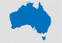 Australia Map - High Detailed ...