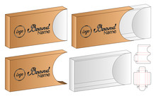 Box Packaging Die Cut Template...