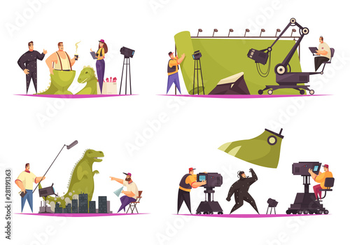 Cinema Movie Concept
