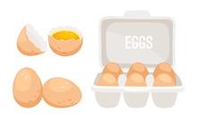 Chicken Eggs. Fresh Brown Eggs...