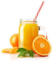 Fresh Orange Juice With Fruit ...