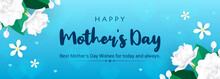 Happy Mother's Day Banner Vect...