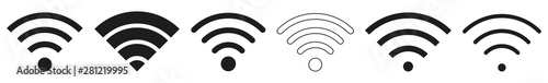 Obraz Wireless | Internet Connection | Signal Icon | Variations - fototapety do salonu