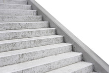 Bare Concrete Exterior Stairs