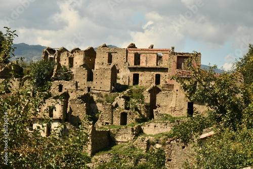 casalnuovo frazione di africo vecchio, calabria, parco dell' aspromonte, calabri Wallpaper Mural