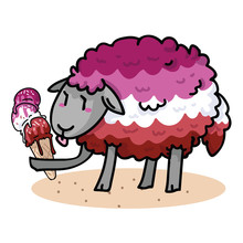 Cute Femme Lesbian Sheep With ...