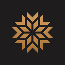 Moroccan Logo Luxury Design Icon